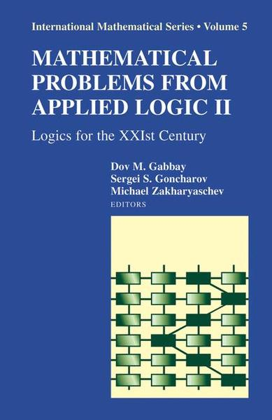 Mathematical Problems from Applied Logic II. Vol.2 | Dodax.ch