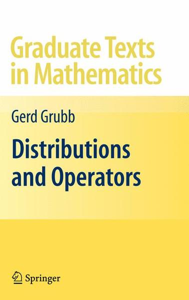 Distributions and Operators | Dodax.ch