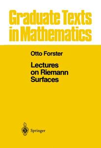 Lectures on Riemann Surfaces | Dodax.at