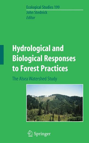 Hydrological and Biological Responses to Forest Practices | Dodax.ch