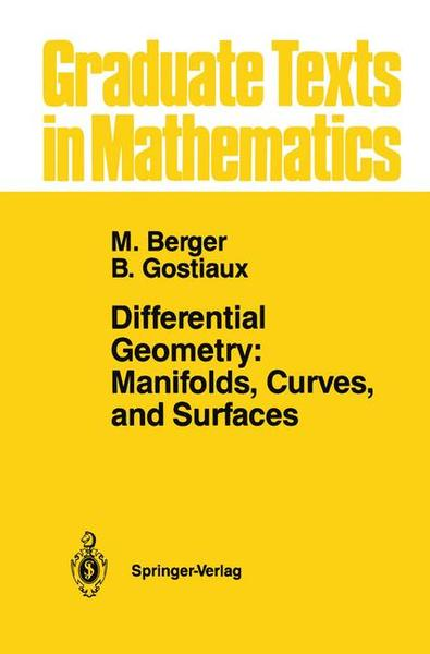 Differential Geometry: Manifolds, Curves, and Surfaces | Dodax.at