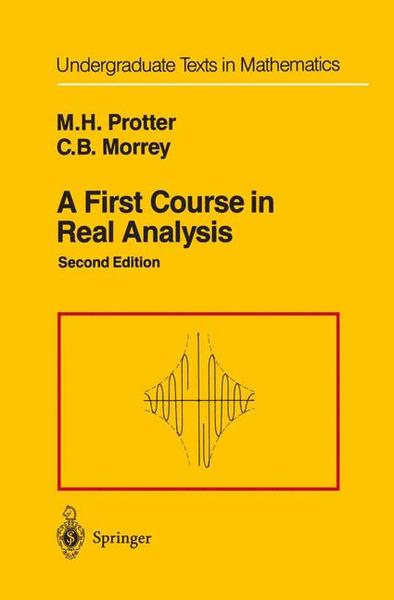 A First Course in Real Analysis | Dodax.ch