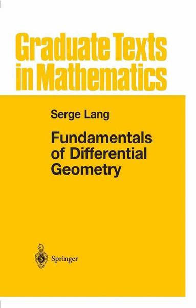Fundamentals of Differential Geometry | Dodax.ch
