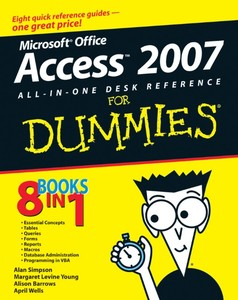 Access 2007 All-in-One Desk Reference For Dummies | Dodax.de