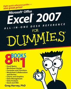 Excel 2007 All-In-One Desk Reference For Dummies   Dodax.de