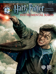 Harry Potter Instrumental Solos for Strings - Cello | Dodax.nl