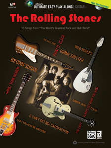 Ultimate Easy Guitar Play-Along: The Rolling Stones, m. 1 DVD + 1 MP3-CD | Dodax.ch