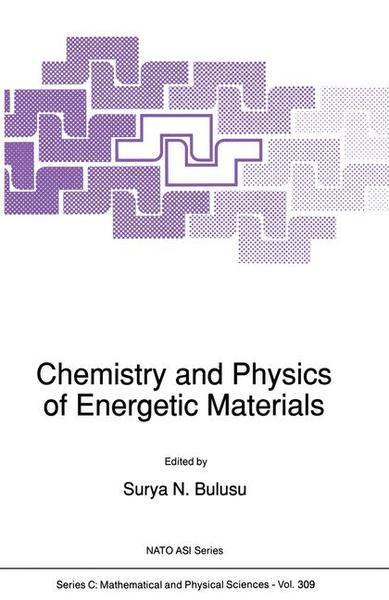 Chemistry and Physics of Energetic Materials   Dodax.ch