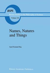 Names, Natures and Things | Dodax.pl