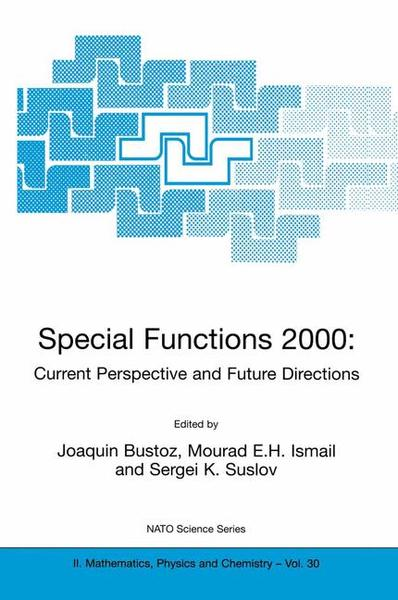 Special Functions 2000: Current Perspective and Future Directions   Dodax.de
