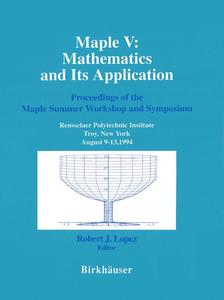 Maple V: Mathematics and its Application | Dodax.at