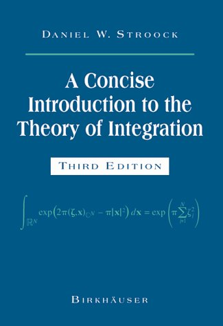 A Concise Introduction to the Theory of Integration | Dodax.ch