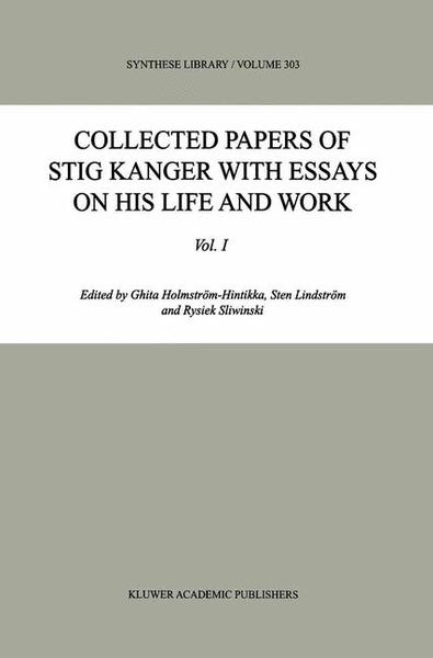 Collected Papers of Stig Kanger with Essays on his Life and Work | Dodax.pl