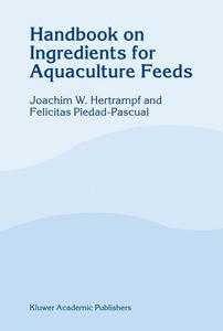 Handbook on Ingredients for Aquaculture Feeds | Dodax.ch