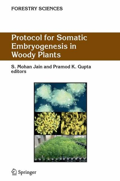 Protocol for Somatic Embryogenesis in Woody Plants | Dodax.ch
