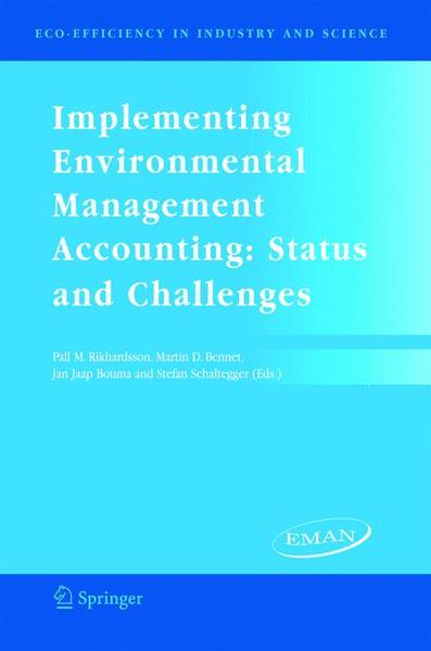 Implementing Environmental Management Accounting | Dodax.ch