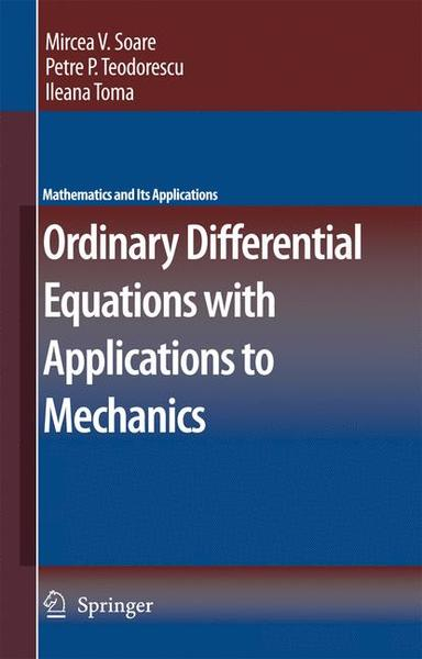 Ordinary Differential Equations with Applications to Mechanics | Dodax.ch