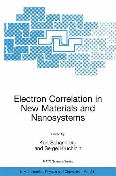 Electron Correlation in New Materials and Nanosystems | Dodax.ch
