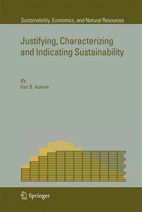 Justifying, Characterizing and Indicating Sustainability | Dodax.ch