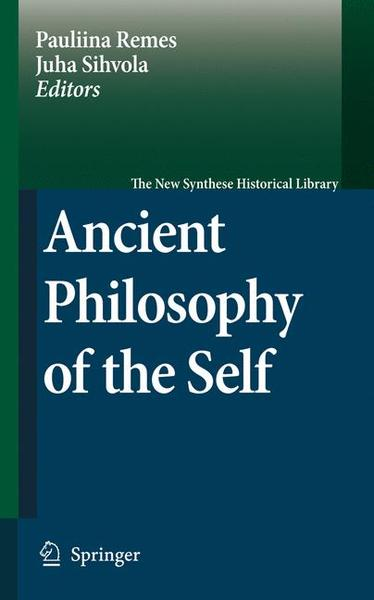 Ancient Philosophy of the Self   Dodax.ch