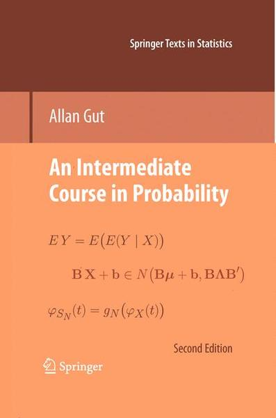 An Intermediate Course in Probability | Dodax.pl
