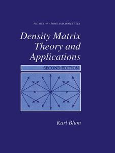 Density Matrix Theory and Applications | Dodax.pl