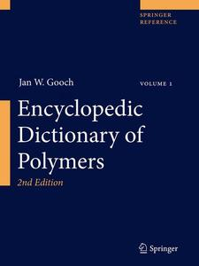 Encyclopedic Dictionary of Polymers, 2 Teile | Dodax.ch