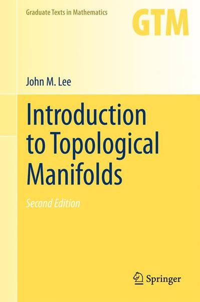 Introduction to Topological Manifolds | Dodax.ch