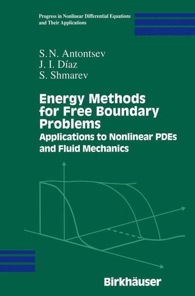 Energy Methods for Free Boundary Problems | Dodax.ch