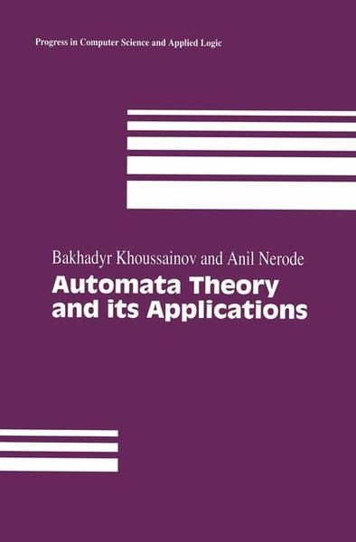 Automata Theory and its Applications | Dodax.de