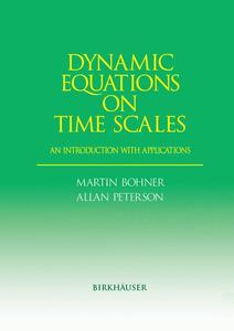 Dynamic Equations on Time Scales | Dodax.ch