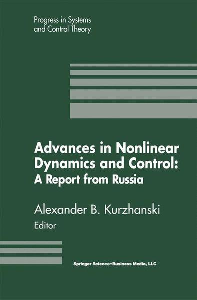 Advances in Nonlinear Dynamics and Control: A Report from Russia | Dodax.ch