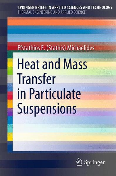 Heat and Mass Transfer in Particulate Suspensions   Dodax.ch