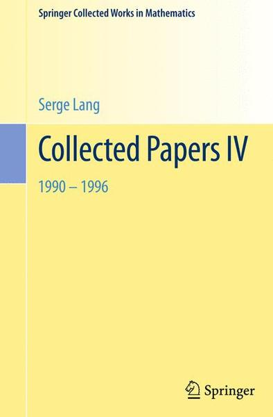 Collected Papers IV | Dodax.ch