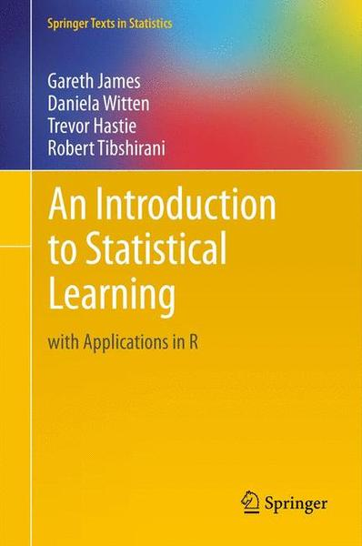 An Introduction to Statistical Learning | Dodax.de