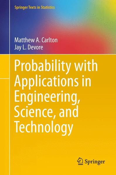 Probability with Applications in Engineering, Science, and Technology | Dodax.ch