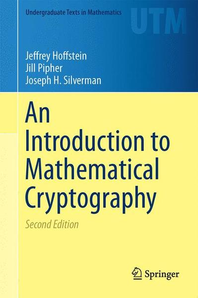 An Introduction to Mathematical Cryptography | Dodax.at