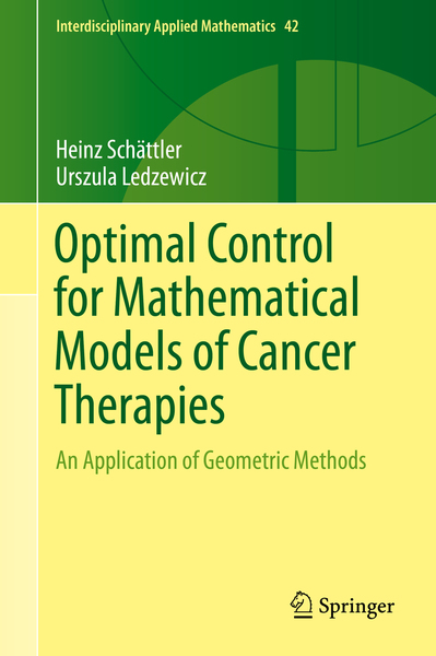 Optimal Control for Mathematical Models of Cancer Therapies | Dodax.ch