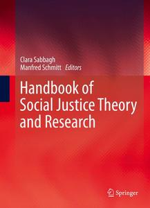 Handbook of Social Justice Theory and Research | Dodax.ch