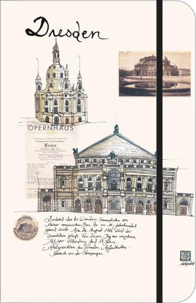Dresden City Journal, Notizbuch, klein | Dodax.at