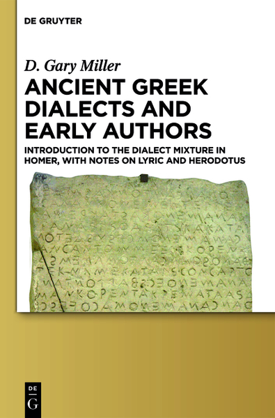 Ancient Greek Dialects and Early Authors | Dodax.de