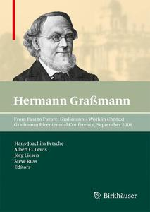 From Past to Future, Graßmann's Work in Context   Dodax.ch
