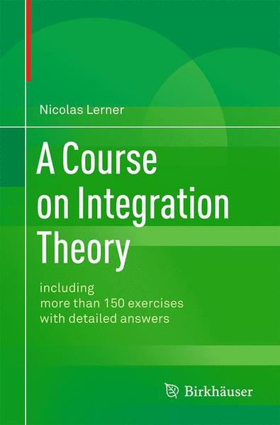 A Course on Integration Theory   Dodax.pl