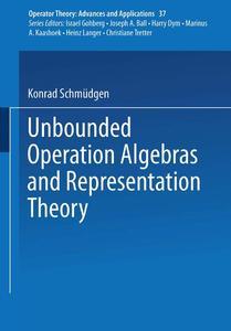 Unbounded Operator Algebras and Representation Theory | Dodax.de