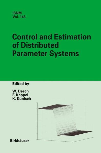 Control and Estimation of Distributed Parameter Systems | Dodax.pl