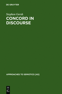 Concord in Discourse | Dodax.at