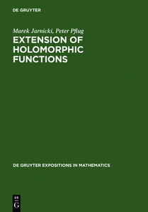 Extension of Holomorphic Functions | Dodax.at