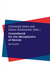 Groundwork for the Metaphysics of Morals | Dodax.ch