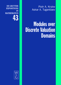 Modules over Discrete Valuation Domains | Dodax.at