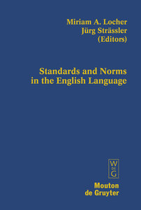 Standards and Norms in the English Language | Dodax.at